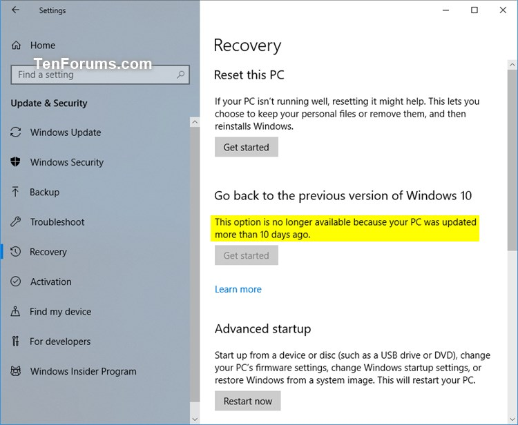 Name:  Recovery_Settings.jpg Views: 141 Size:  72.5 KB
