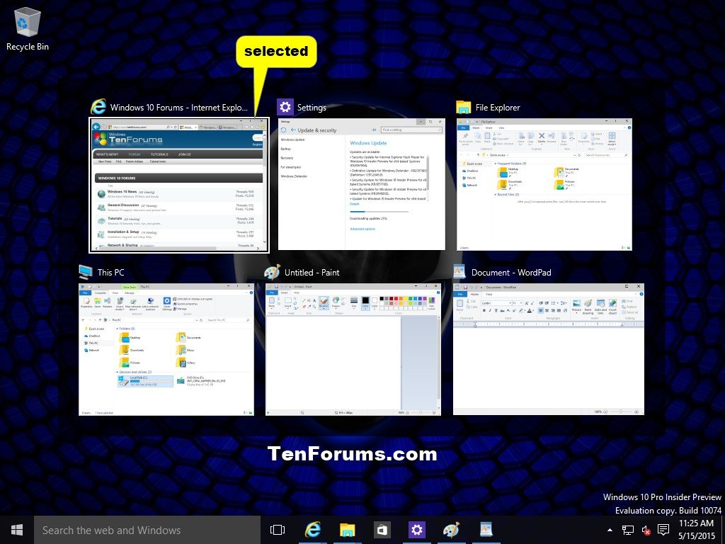 how to display a tumbnail in c windows application