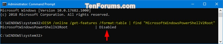 Enable or Disable Windows PowerShell 2.0 in Windows 10-check_powershell_2_state_command-1.jpg