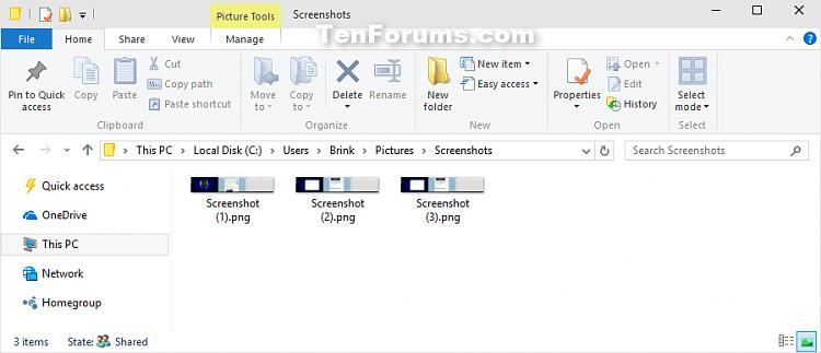 Take Screenshot in Windows 10-screenshots_folder.png