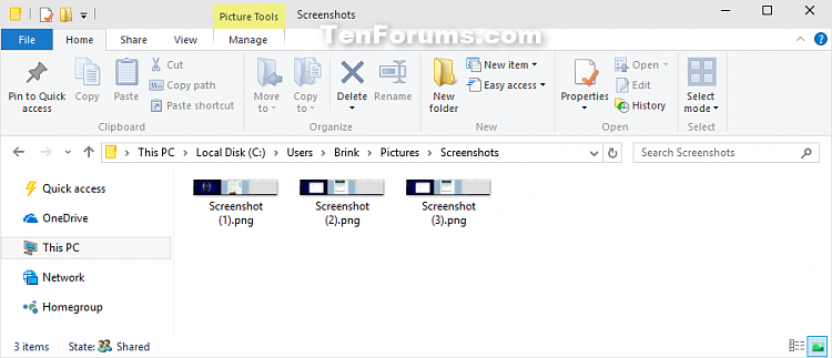 Take Screenshot in Windows 10-screenshots_folder.png