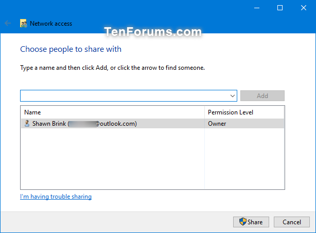 Share Files and Folders Over a Network in Windows 10-specific_people-1.png