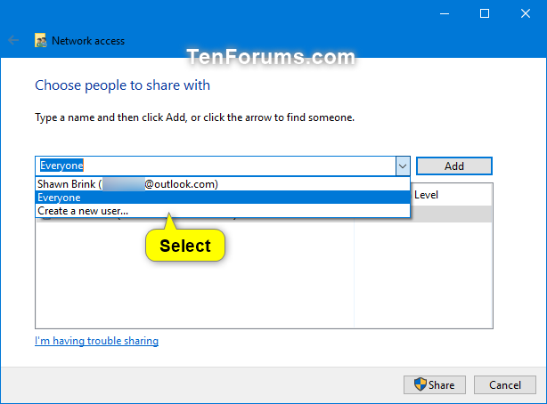 Share Files and Folders Over a Network in Windows 10-specific_people-2.png
