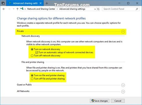 Share Files and Folders Over a Network in Windows 10 | Tutorials