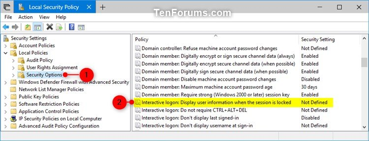 Enable or Disable Sign-in Screen Email Address in Windows 10