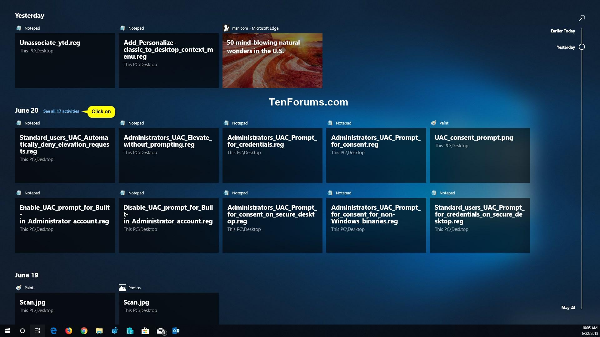 Windows 10 Timeline Aktivieren