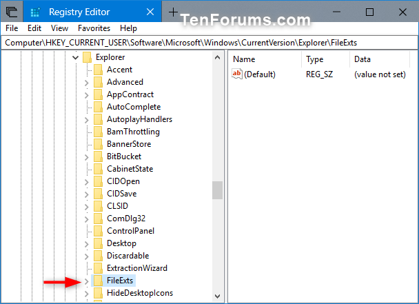 Remove Programs from Open with Context Menu in Windows
