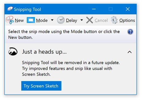 Take Screenshot in Windows 10-snipping_tool_removal.jpg