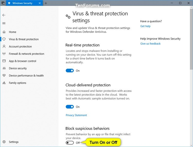 Turn On Windows Defender Block Suspicious Behaviors in Windows 10-windows_defender_block_suspicious_behaviors-3.jpg