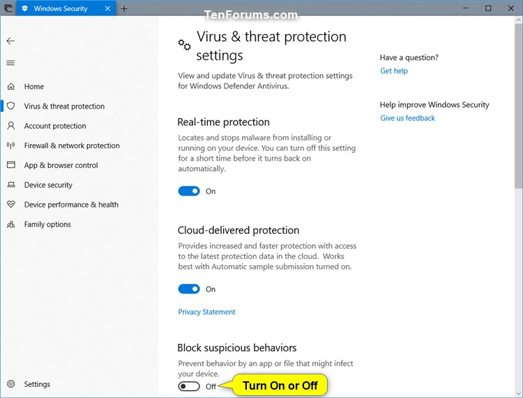 Turn On Windows Defender Block Suspicious Behaviors in Windows 10-windows_defender_block_suspicious_behaviors-3.jpg
