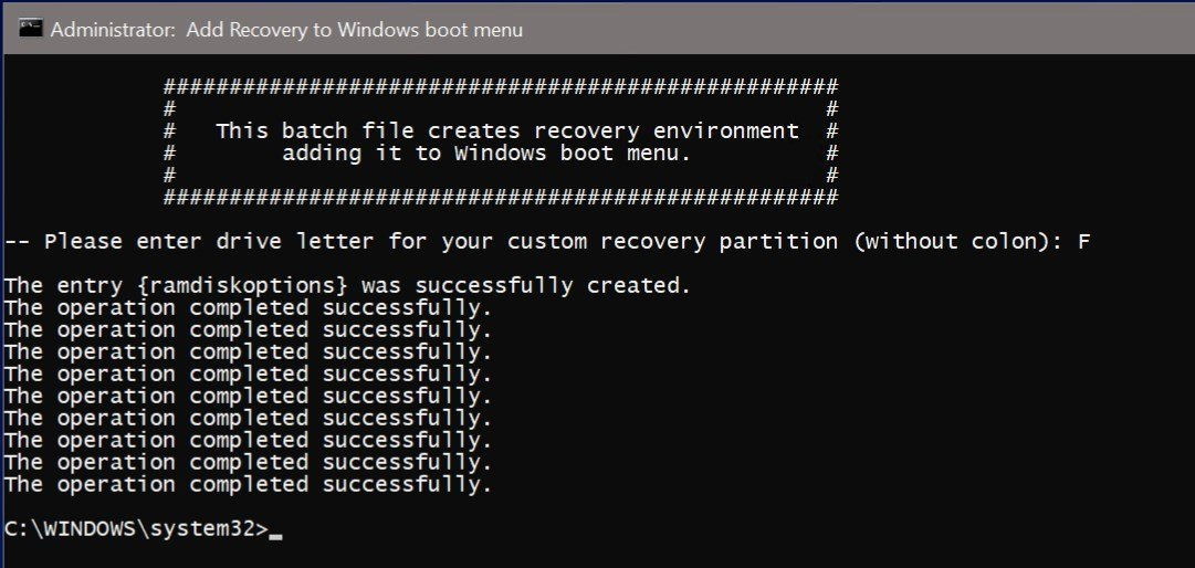 how to create a recovery drive in windows 10 hp