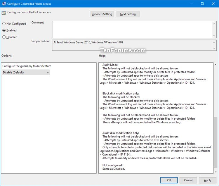 Name:  Controlled_folder_access_gpedit-3.jpg Views: 2607 Size:  93.4 KB