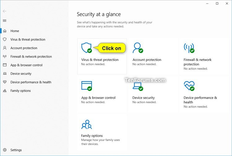 Enable or Disable Controlled Folder Access in Windows 10 | Tutorials