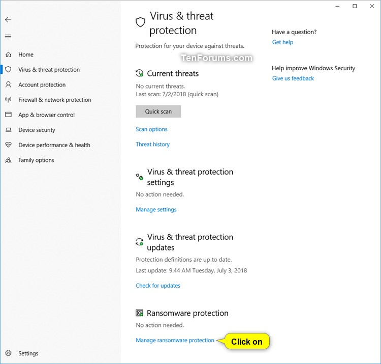How to Enable or Disable Controlled Folder Access in Windows 10-windows_defender_controlled_folder_access-2.jpg