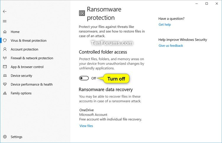 Name:  Windows_Defender_Controlled_folder_access-3.jpg Views: 3889 Size:  53.6 KB