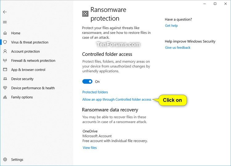 Add or Remove Allowed Apps for Controlled Folder Access in Windows 10-windows_defender_controlled_folder_access-3.jpg