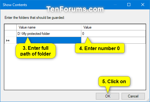 how to add password to folder windows 10