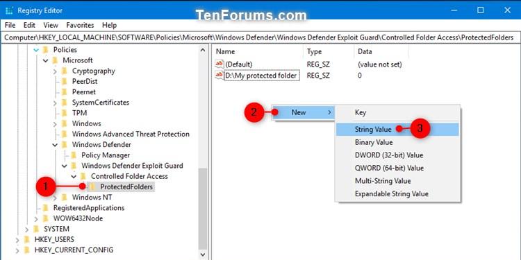 Name:  Windows_Defender_Controlled_folder_access_protected_folders_regedit-1.jpg Views: 12745 Size:  61.2 KB