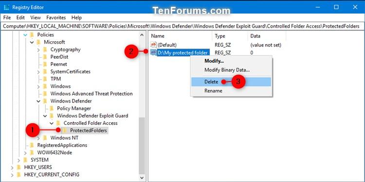 Name:  Windows_Defender_Controlled_folder_access_protected_folders_regedit-4.jpg Views: 5081 Size:  57.8 KB