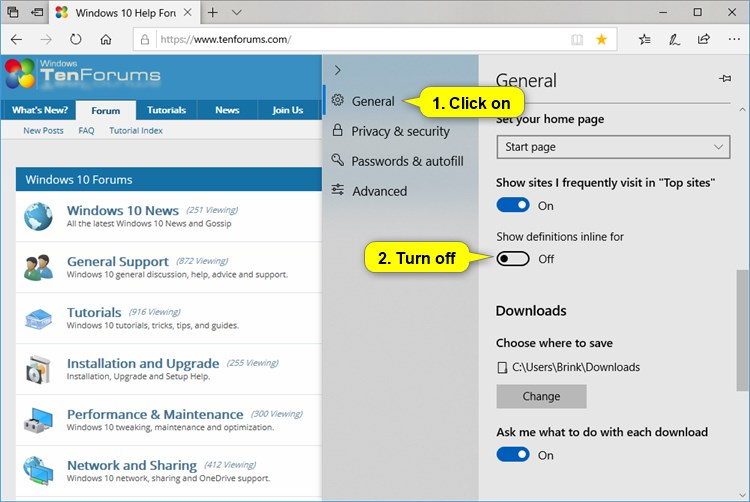 Name:  Microsoft_Edge_lookup_definitions_for_words_settings-3.jpg Views: 75 Size:  77.9 KB