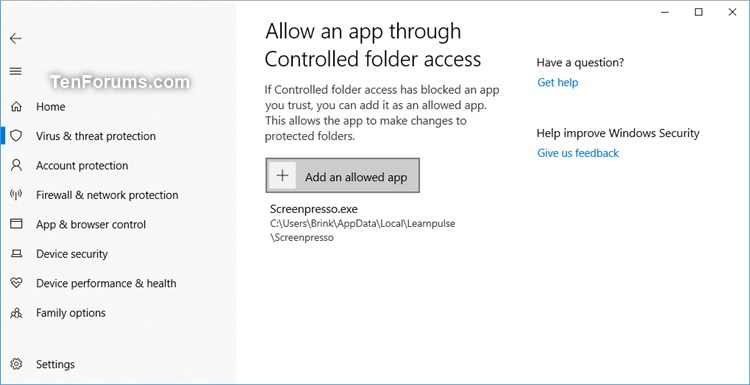 Name:  Windows_Security_Controlled_folder_access.jpg Views: 249 Size:  42.0 KB