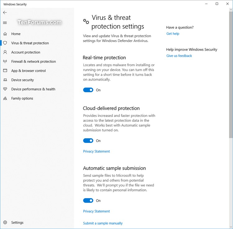 Enable Windows Defender Block at First Sight in Windows 10-windows_dedender_block_at_first_sight-3.jpg