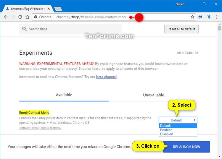 Name:  Chrome_Emoji_picker_context_menu.jpg Views: 682 Size:  69.9 KB