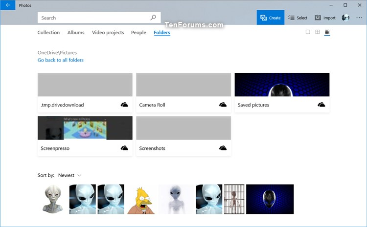 Name:  OneDrive_cloud-only_content_in_Photos.jpg Views: 265 Size:  44.9 KB