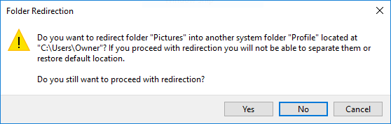 Name:  Tutorial - redirection warning.PNG