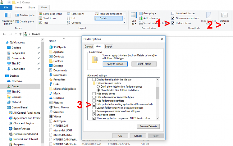 Undo:  Merged your Pictures folder with your User folder-tutorial-explorer-settings.png