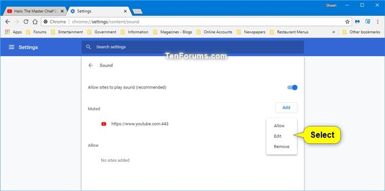 Allow or Block Sites to Play Sound in Google Chrome-muted-2.jpg