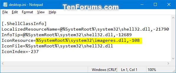 how to change location of windows music folder