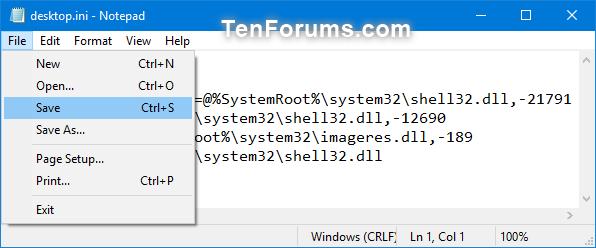 Change or Restore Videos Folder Icon in Windows-videos_folder_desktop.ini_file-2.png