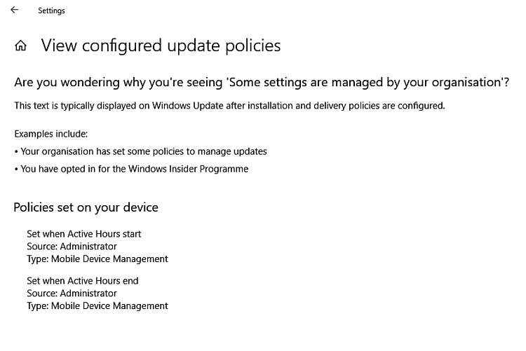 Click image for larger version.  Name:Windows Update - configured policies (1803).PNG Views:15 Size:27.2 KB ID:201315