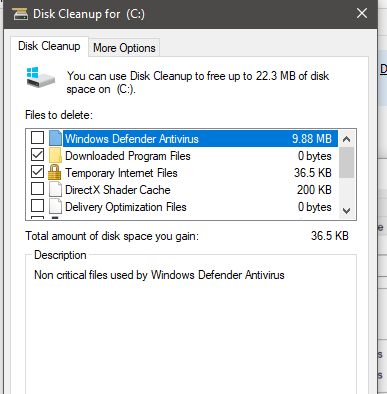 delete temporary files in windows 10 page 2 tutorials. Black Bedroom Furniture Sets. Home Design Ideas