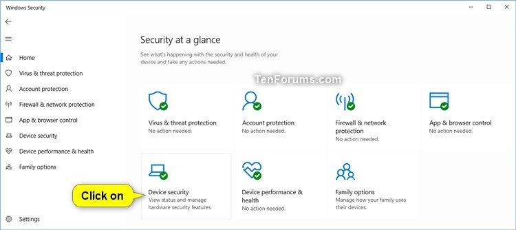 Check if Secure Boot is Enabled or Disabled in Windows 10