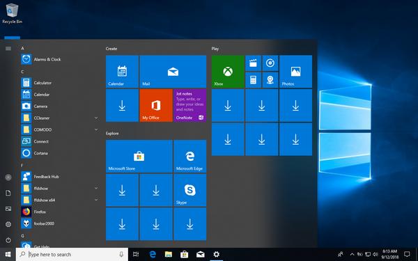 Start Menu Troubleshooter in Windows 10-start.png