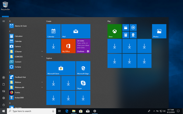 Start Menu Troubleshooter in Windows 10-start1.png