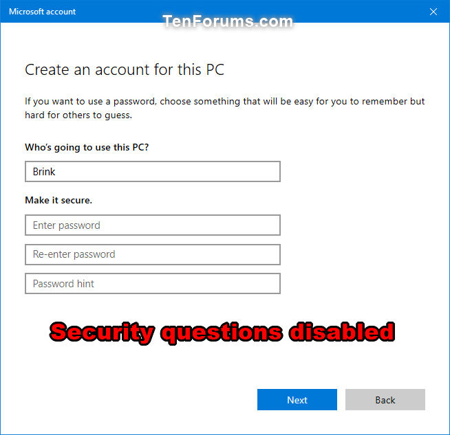 Enable or Disable Security Questions for Local Accounts in Windows 10-use_of_security_questions_for_local_accounts_disabled.png