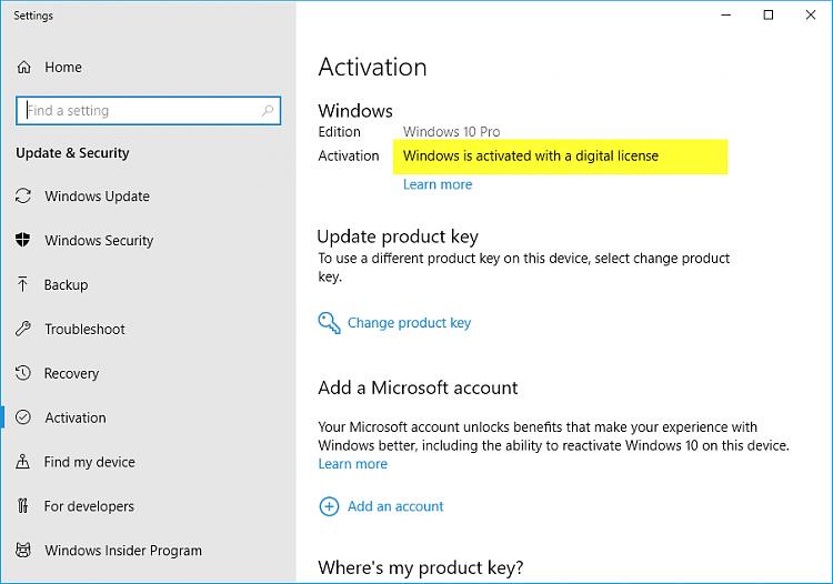 Link Microsoft Account to Windows 10 Digital License-activation-la.png