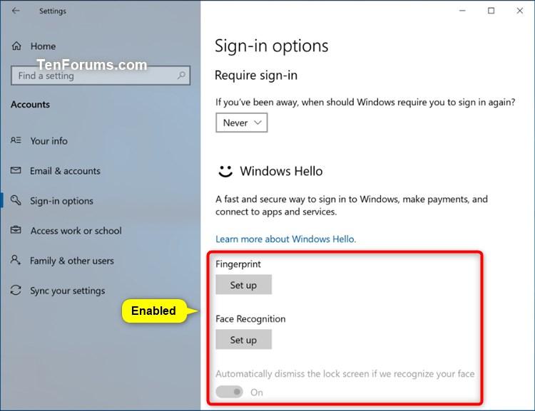 Enable or Disable Windows Hello Biometrics in Windows 10-windows_hello_biometrics_enabled.jpg