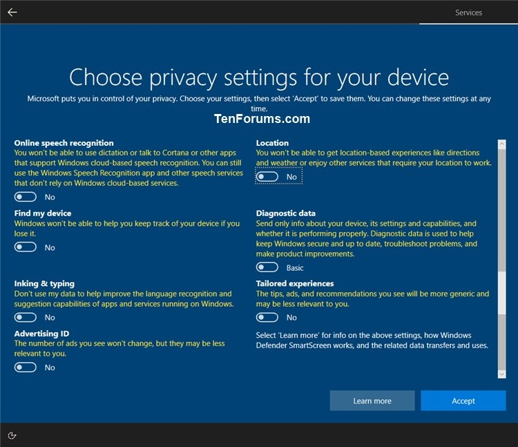 Turn On or Off Online Speech Recognition in Windows 10-privacy_settings-2.jpg