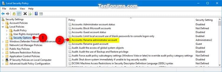 Change User Name of Account in Windows 10   Tutorials