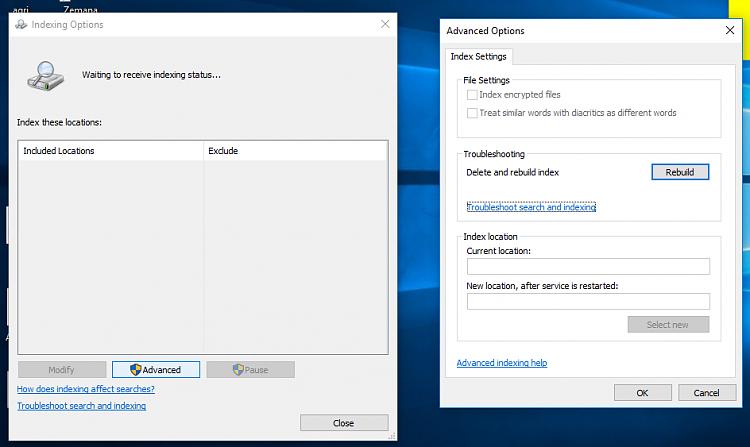 Rebuild Search Index in Windows 10-error.png