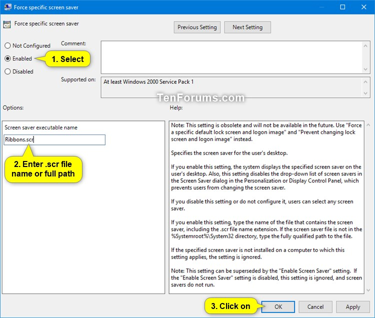Name:  Specify_screen_saver_gpedit-2.jpg Views: 229 Size:  104.3 KB