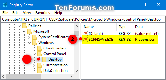 Name:  Specify_screen_saver_regedit-1.png Views: 84 Size:  30.3 KB