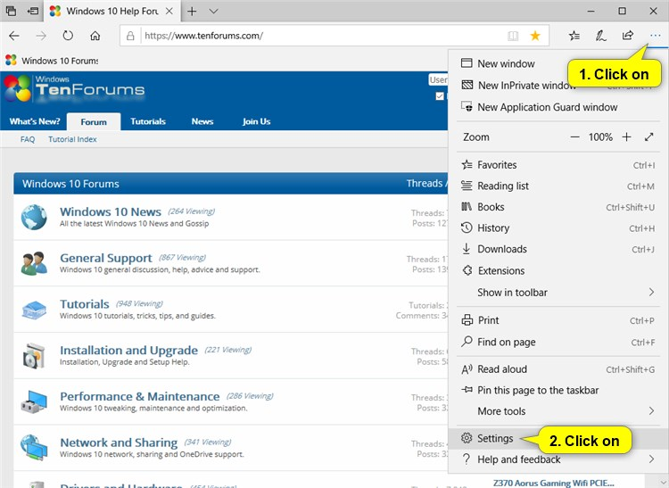 Import Bookmarks from Chrome to Microsoft Edge in Windows 10 | Tutorials