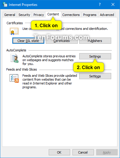 Enable or Disable AutoSuggest in File Explorer and Run in