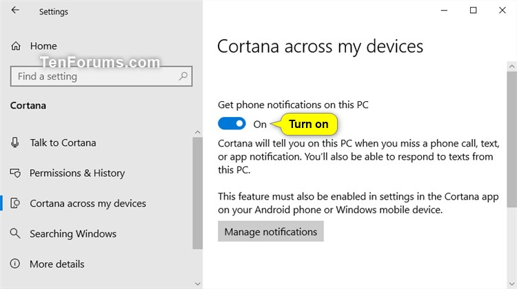 Cortana You Update on Android, Get the Sync Notifications
