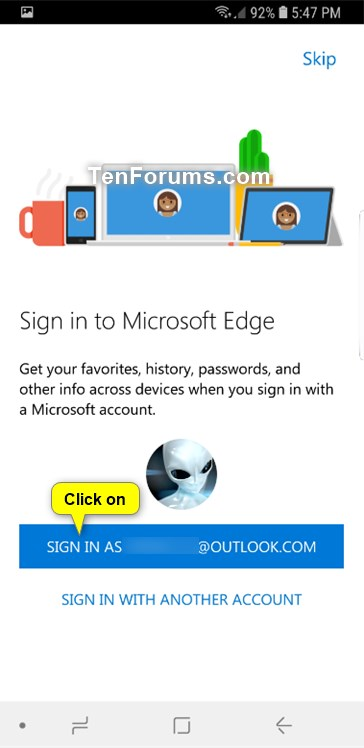 Send Webpage in Microsoft Edge from Android Phone to Windows 10 PC-microsoft_edge_android-3.jpg